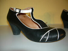 Martin Nature Tango Negro/Blanco Chaussures Escarpins cuir Spain Taille 36 Top