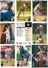 1994 UD Upper Deck Collectors Choice Montreal Expos Complete Team Set (24)