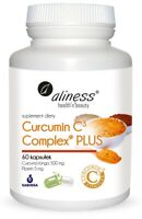 ALINESS Curcumin C3 Complex PLUS (Curcumin + Piperin) 60 Vege Kapseln