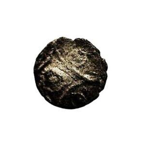 Regini & Atrebates Celtic Silver Minim - Commios Concave Square Type (HHC4390)