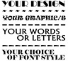 CUSTOM ~ CREATE YOUR OWN DESIGN VINYL GRAPHIC DECAL / STICKER ~ ANY WORDS/IMAGE