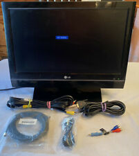 Lg 20Ls7D 20in Lcd Television No Remote Tv With Multiple Cords
