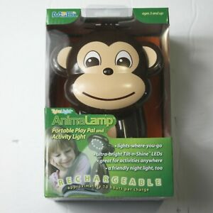 Portable Animal Monkey Lamp LED Light, Reading Light, Nightlight NEW
