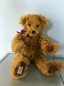 Rare Limited Edition Dean's Rag Book Teddy Bear - Hamish