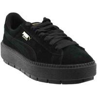 Puma Platform Trace Sneakers - Black - Womens