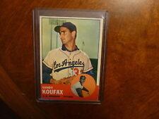 1963 Topps #210 Sandy Koufax L.A. Dodgers Ex+