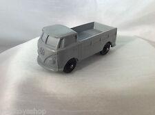 Norddeutsche Plastik NP VW  T1 Pick Up Plastik Vynil Gummi Model Auto (Grey)