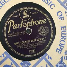 """FRISCO JOE'S GOODTIME BOYS -  Have You Ever Been Lonely 10"""" 78rpm (7048)"""
