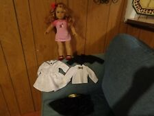 American Girl Doll  Red Hair, Blue Eyes, / clothes