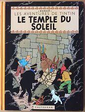 TINTIN Le Temple du Soleil EO du fac-similé couleurs 2001 Excellent état