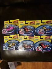 SET OF 6 FISHER PRICE DISNEY MICKEY & THE ROADSTER RACERS BRAND NEW
