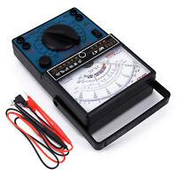 Multimètre Ampèremètre Ohmmètre Testeur Mètre DC Fil Analogique Voltmètre