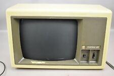 Vintage Apple Monitor III Monochrome For Apple II Plus and IIe Works
