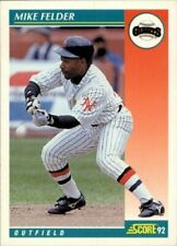 1992 Score Baseball Cards 251-500 +Rookies (A2609) - You Pick - 10+ FREE SHIP