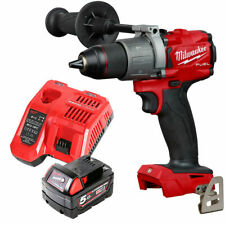 Milwaukee M18FPD2 18v Fuel Percussion Drill With 1 x 5Ah Battery & Charger