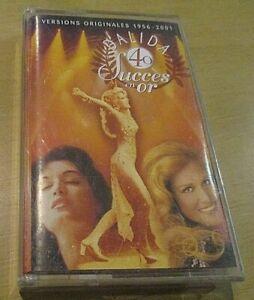 dalida k7 cassette audio