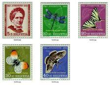 Butterflies Swiss Stamps