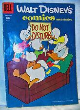 Walt Disney Comics Dell 1958 No216A Donald Duck Do Not Disturb Good Condition