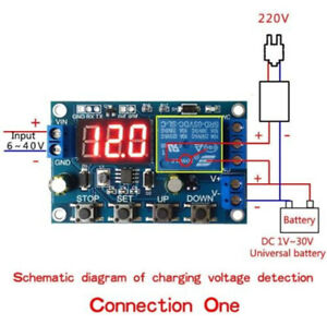 Battery Charge Discharge Board Under/Over Voltage Protection Module DC 6-40V
