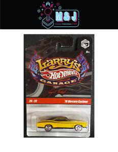 Larry's Hot Wheels Garage '70 Mercury Cyclone 20/20  Sealed  (Aussie Seller)