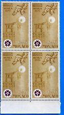 COLECCIÓN DE 4 SELLOS MÓNACO Nº 824 EXPOSICIÓN OSAKA JAPÓN NUEVA MNH BD63