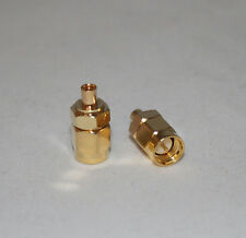 MMCX Female to SMA Male Straight Adapter Connector; US Seller; Fast Shipping