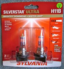 Sylvania Silverstar Ultra H11B Bulb (2 bulbs) SEALED