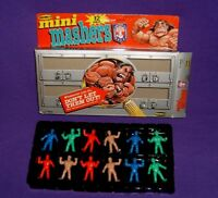Remco AWA Wrestling Mini Mashers 12-Pack Box (1986) Ric Flair LOD Shawn Michaels