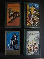 4 Karl May Bücher Konvolut  K0267