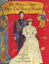 Princess Diana Paper Doll Book of Fashion by Clarissa Marlow (1982, Paperback)