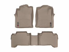 WeatherTech FloorLiner Mat for Toyota Tacoma Double Cab - 2008-2011 - Tan