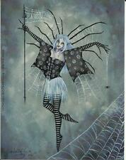 """AMY BROWN FAIRY FAERY STICKER DECAL """"WEB DANCER"""" FROM 2002"""