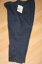 LIZ CLAIBORNE PETITE Navy Blue Cargo Capri Pants Womens Size 8P AUDRA NEW NWT