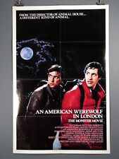 An American Werewolf in London Original Poster 27x 41""