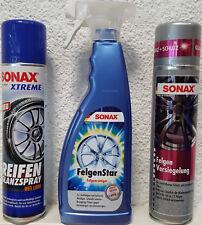 SONAX FelgenStar, Felgen Versiegelung und Reifen Glanzspray 227400 436300 235300