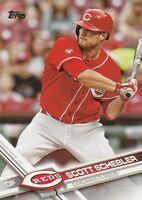 """*Cincinnati Reds-""""Scott Schebler"""" /2017 Topps #310/ *Mint Baseball Card {90}"""