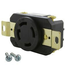30 Amp 3-Phase 480 Volt NEMA L16-30R DIY Replacement Outlet by AC WORKS®