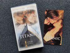 TITANIC VHS Leonardo DiCaprio Kate Winslet James Cameron Billy Zane 1997