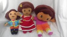 3x Gosh! Dora the Explorer Soft Toys as shown comforters  VGC gb