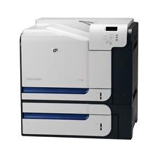 HP COLOR LASERJET CP3525X CC471A USB DUPLEX A4 LASERDRUCKER FARBE