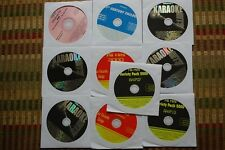 10 CDG DISCS OLDIES,COUNTRY/ROCK KARAOKE HANK WILLIAMS, GREEN DAY,CHICAGO CD 30d