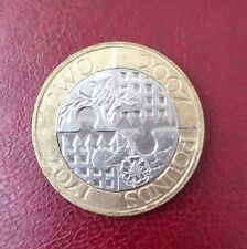 2 two pounds commemorative coin £2 Act of Union rare 2007