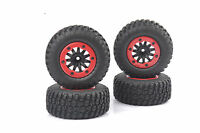 1/10 Scale RC Short Course Model Truck Tire Tyre Wheel 4PCS For TRAXXAS SlASH