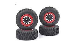 1/10 Scale RC Short Course Model Truck Tire Tyre Wheel 4PCS For TRAXXAS SlASH