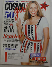 Cosmo Girl Magazine Scarlett Johansson November 2008 123014R