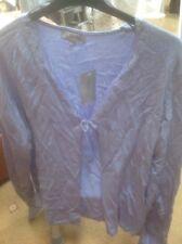 ❤️❤️❤️J Taylor Size 20 Pale Blue Trimmed Cardigan-RRP £25 🎁 SALE