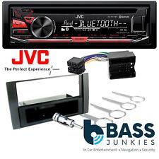 Ford Fiesta 2006 On JVC Bluetooth CD USB MP3 AUX In Car Stereo Black Fitting Kit