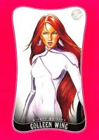 COLLEEN WING / Marvel Dangerous Divas Series 2 (2014) BASE Trading Card #53