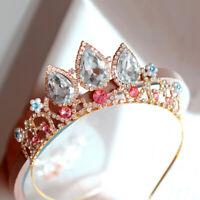 Girls Princess Tangled Rapunzel Crystal Rhinestone Cosplay Tiara Headband Crown
