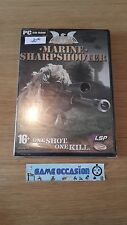 MARINE SHARPSHOOTER / CTU  /  PC  CD-ROM FR  COMPLET NEUF SOUS BLISTER
